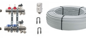 40m2 2 Port x 200m PE-RT AL PE-RT Under Floor Heating Kit